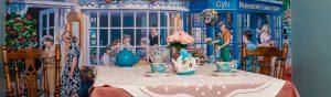 reminiscence tea room in nursing home